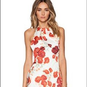 Dresses & Skirts - REVOLVE CAMEO BLOSSOM PRINT ABOUT YOU DRESS
